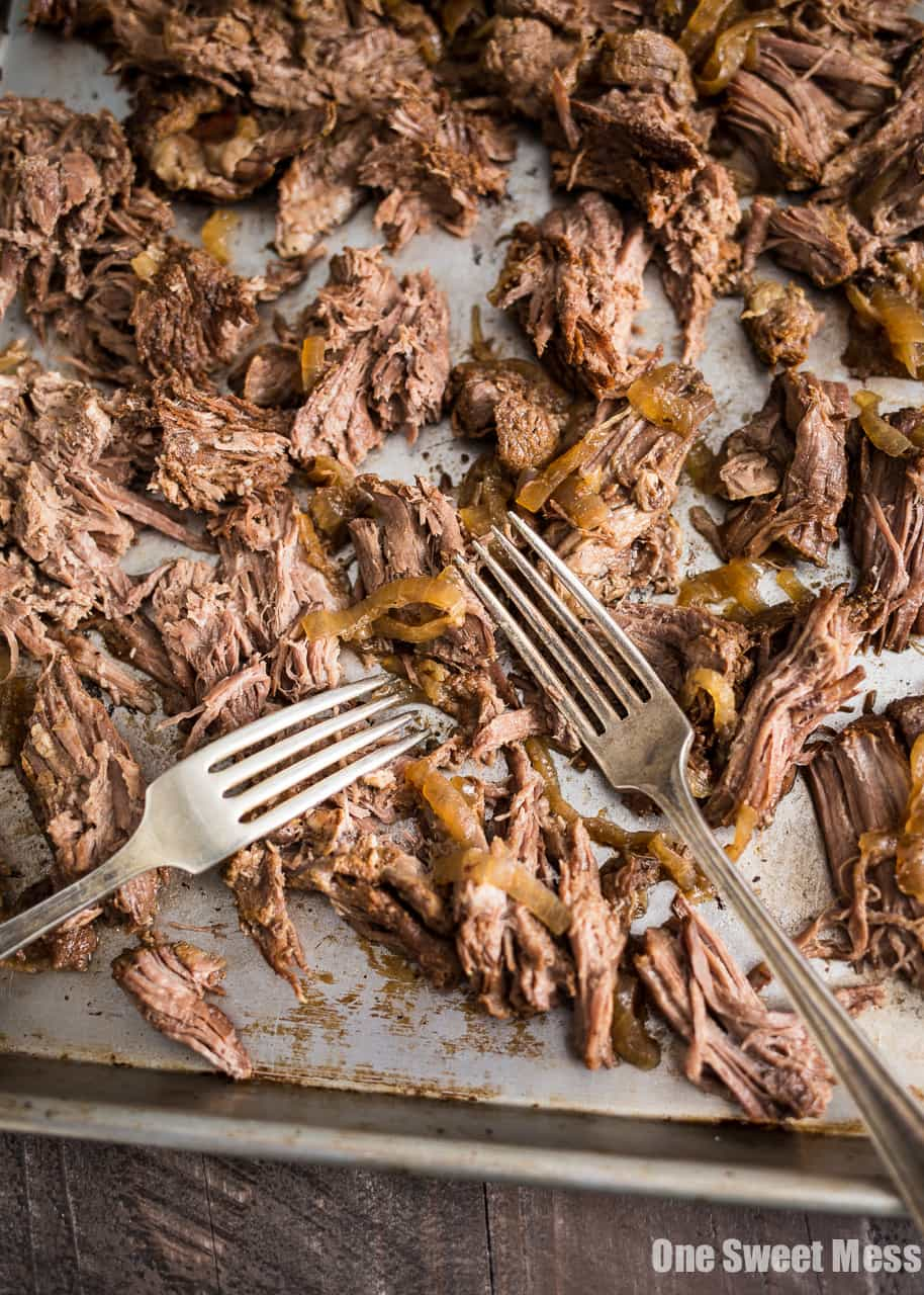 Slow Cooker Guinness Shredded Beef
