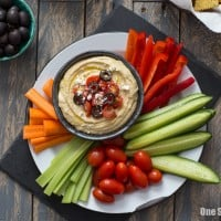 Greek Hummus Platter