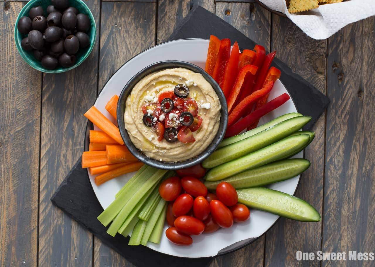Greek Hummus Platter