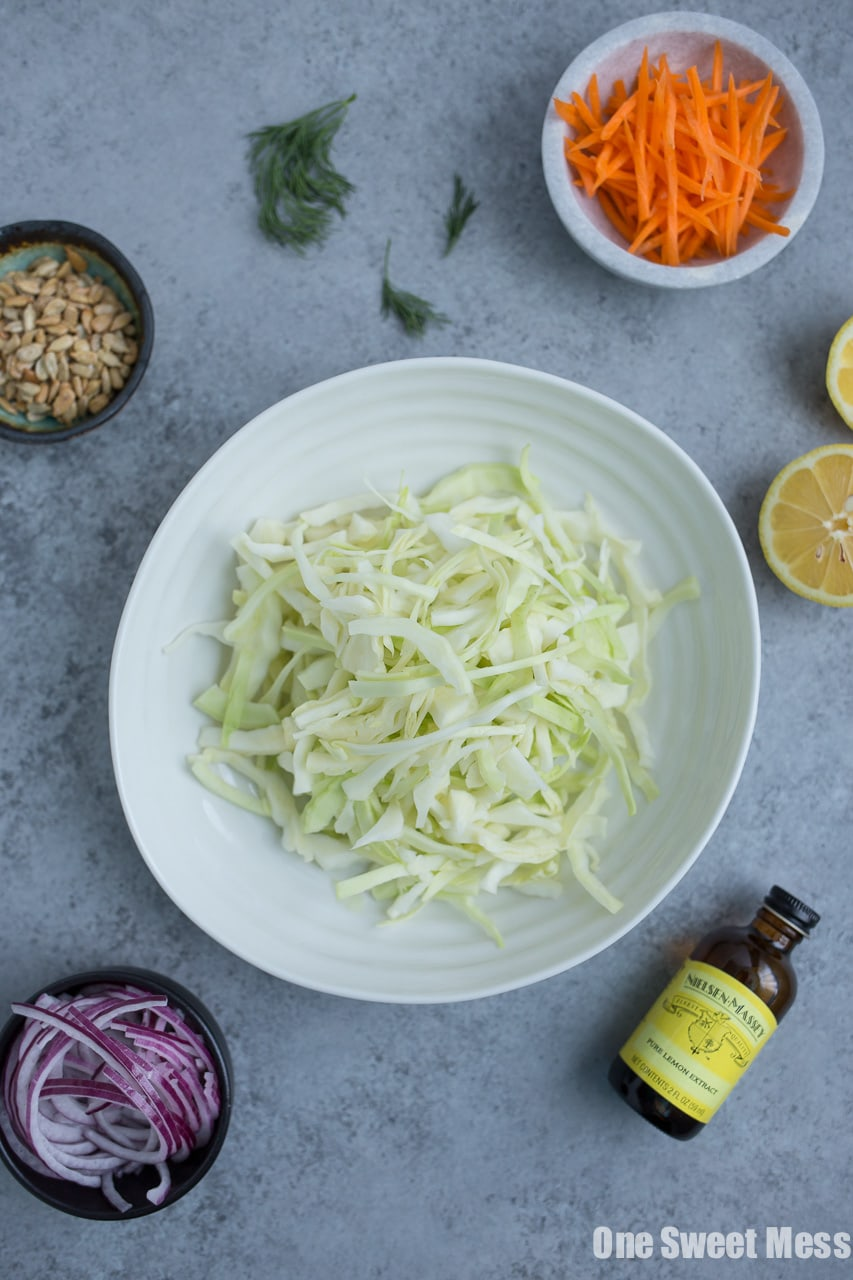 Lemon Dill Coleslaw