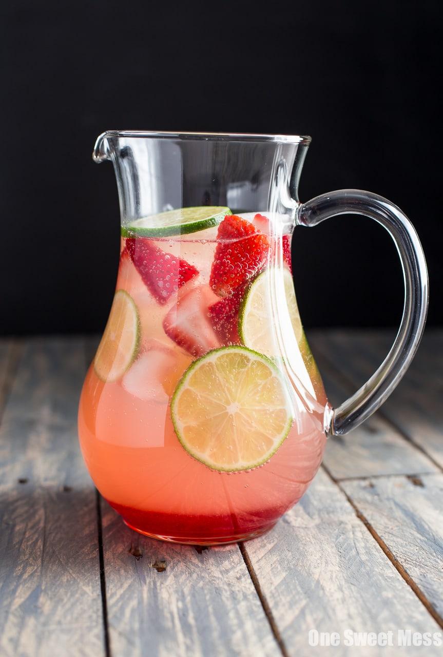 Strawberry-Lime Sangria