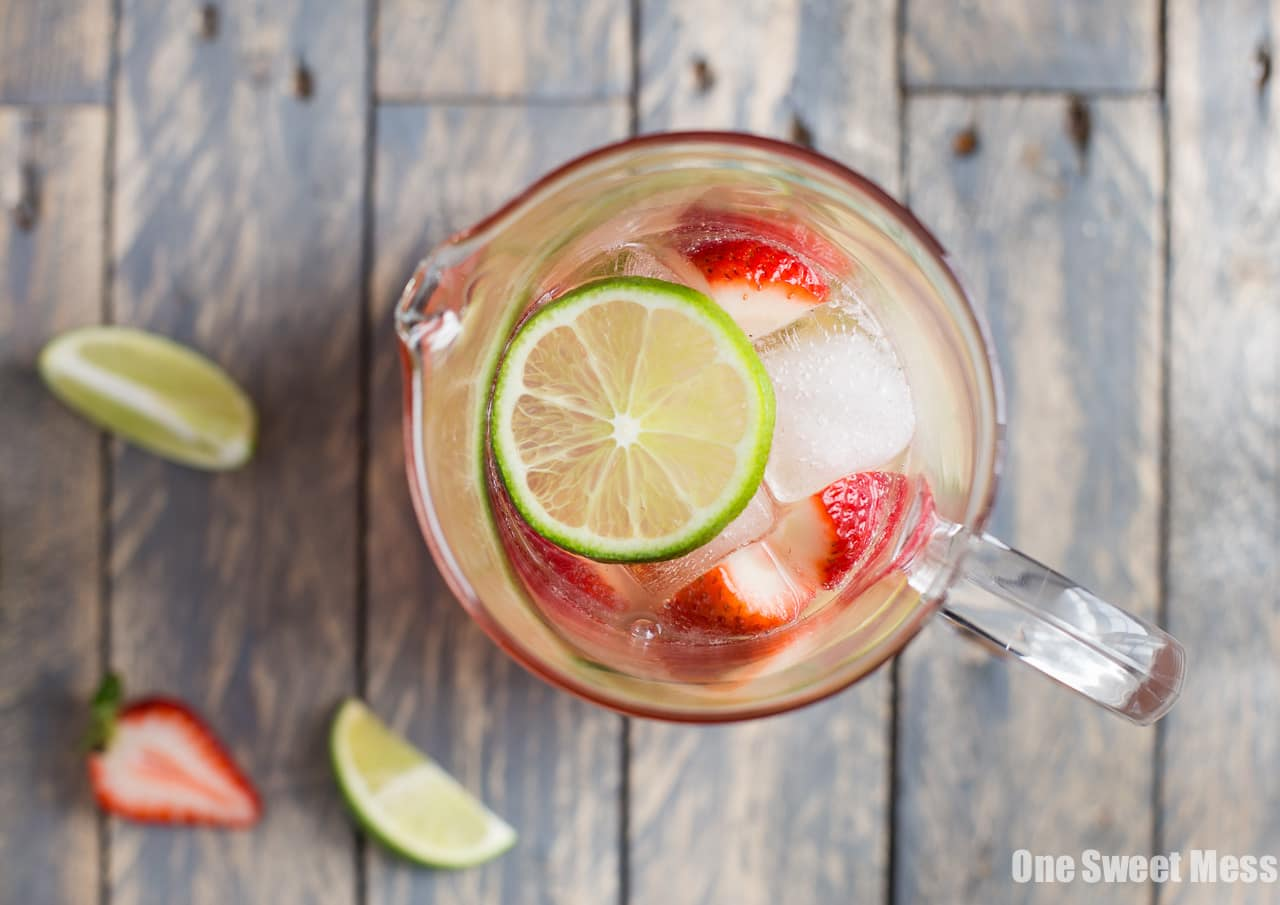 Strawberry-Lime Sangria