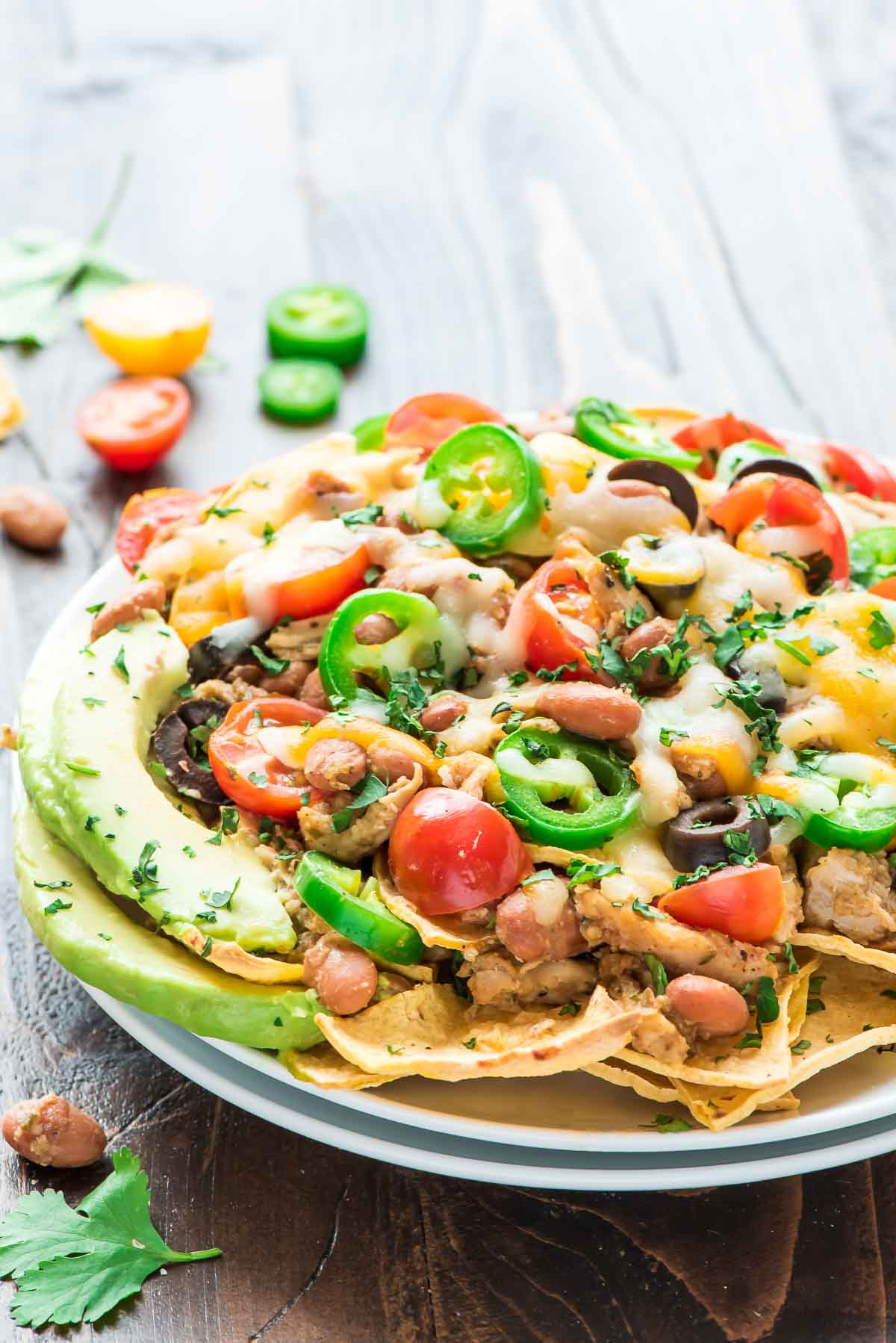 Healthy Crock Pot Nachos