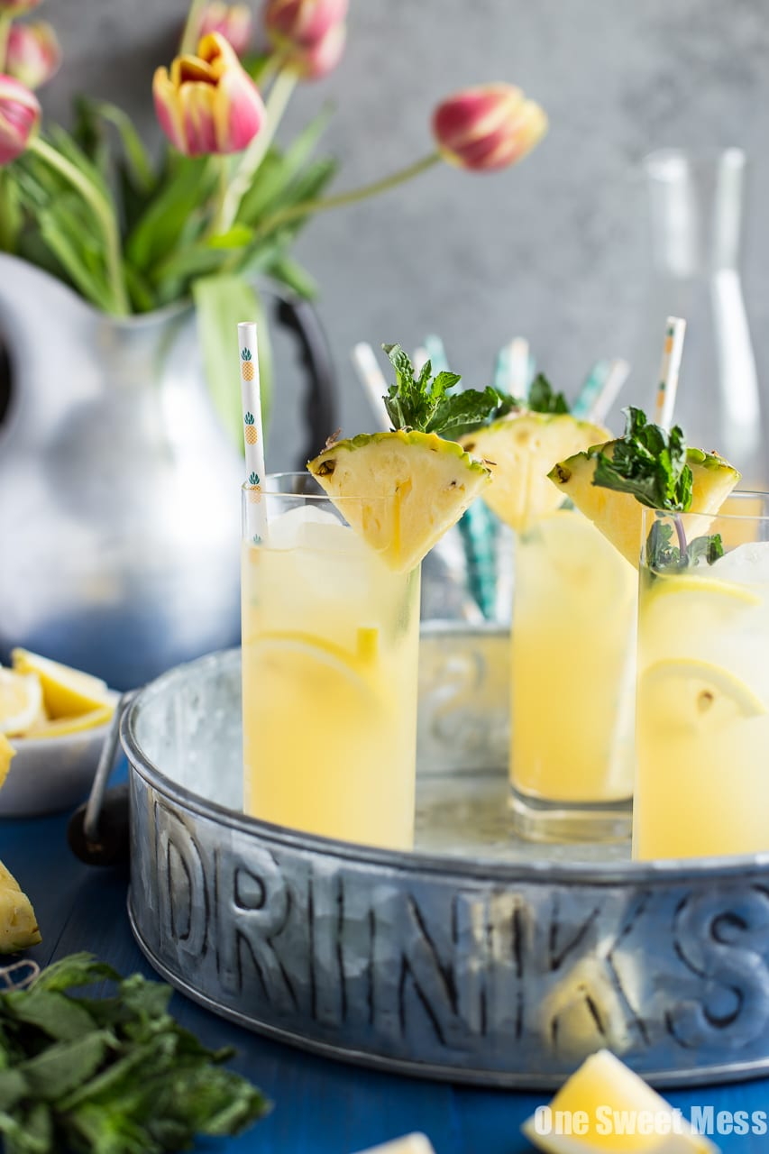 Pineapple Vanilla Bean Martini