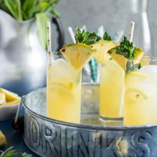 Pineapple Vanilla Bean Martini