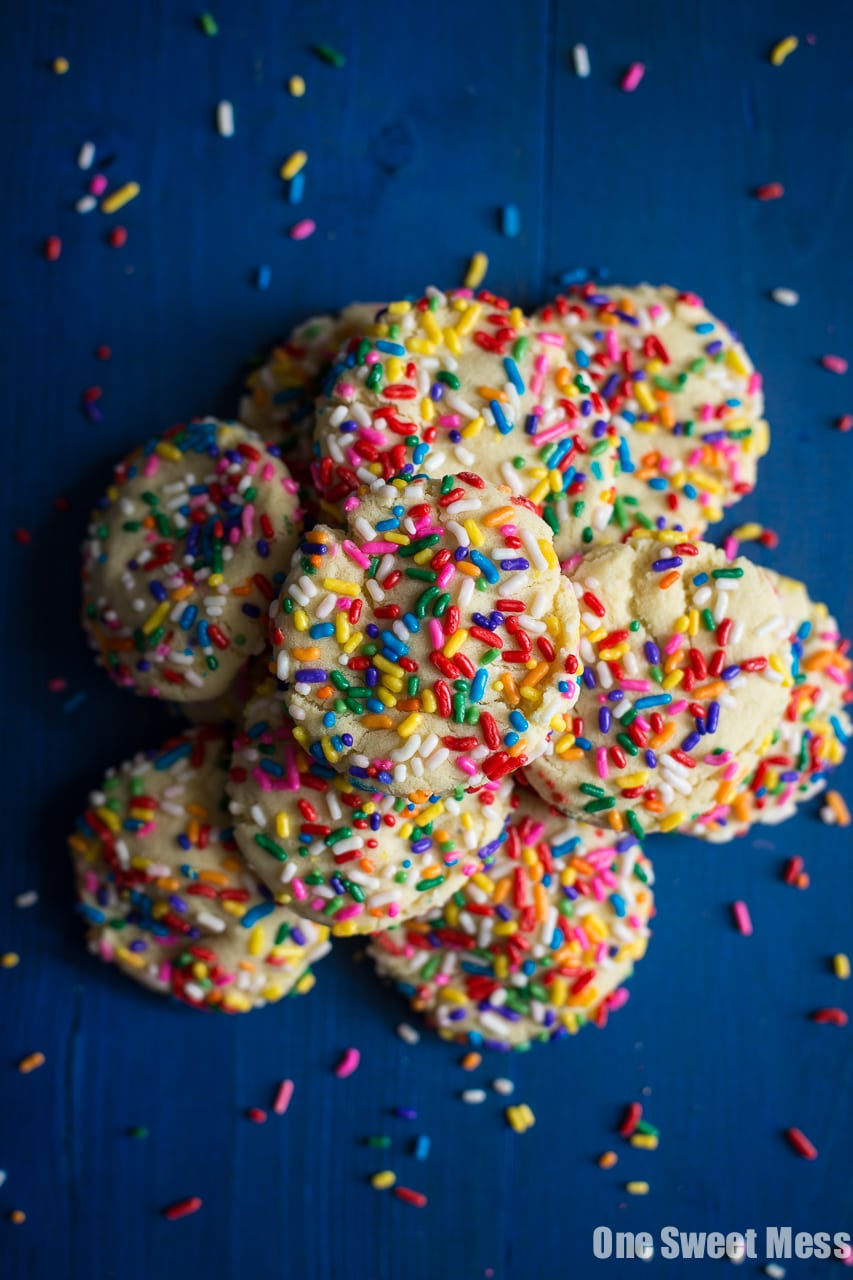 Soft-Baked Funfetti Sugar Cookies