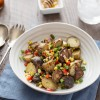 Grilled Potato Salad with Honey Chipotle Vinaigrette