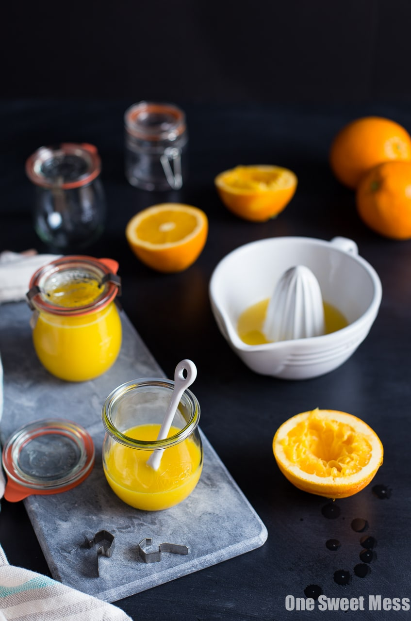 Vanilla Bean Orange Curd