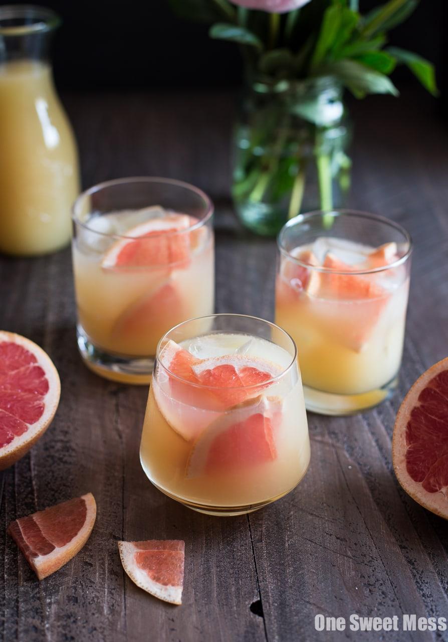Bourbon Grapefruit Cocktail