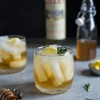 Honey Rosemary Lillet Spritzer