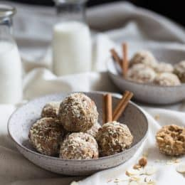 Cookie Butter Cinnamon Chip Oat Balls