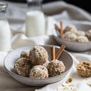 Cookie Butter Cinnamon Chip Oat Balls