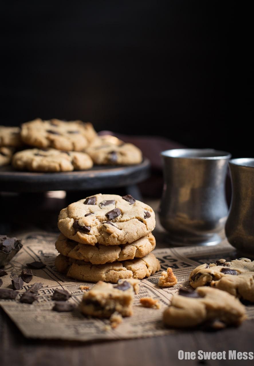 Peanut Butter Chocolate Chunk Cookies