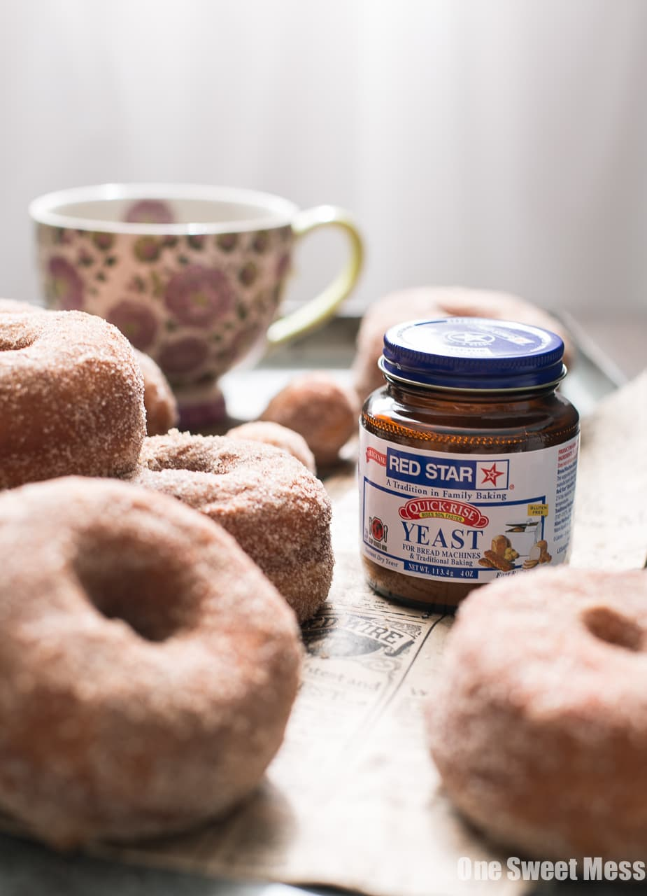 Pumpkin Spice Sugared Donuts