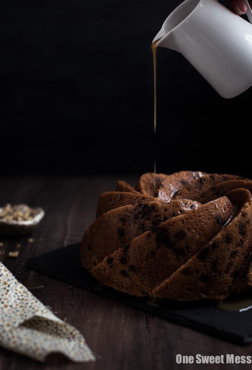 Cinnamon Brown Sugar Bundt Cake With Butterscotch Rum