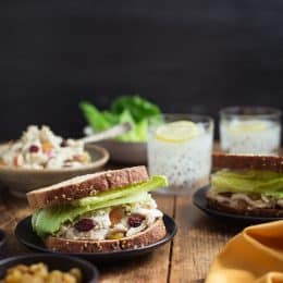 Harvest Turkey Salad Sandwiches