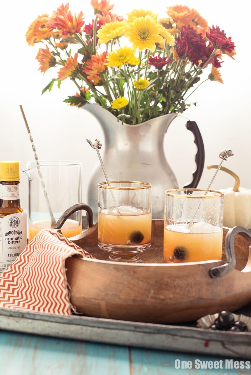 Pumpkin Spice Rum Old Fashioned