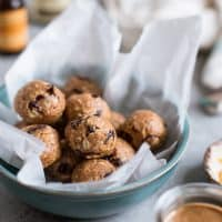 Cranberry Orange Oatmeal Cookie Energy Bites