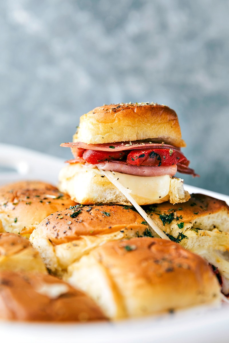Hot Italian Sliders