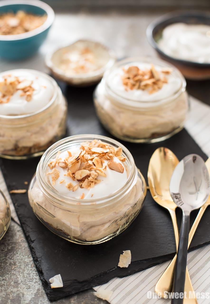 Individual Coconut Cream Pies {Vegan + Gluten-Free}