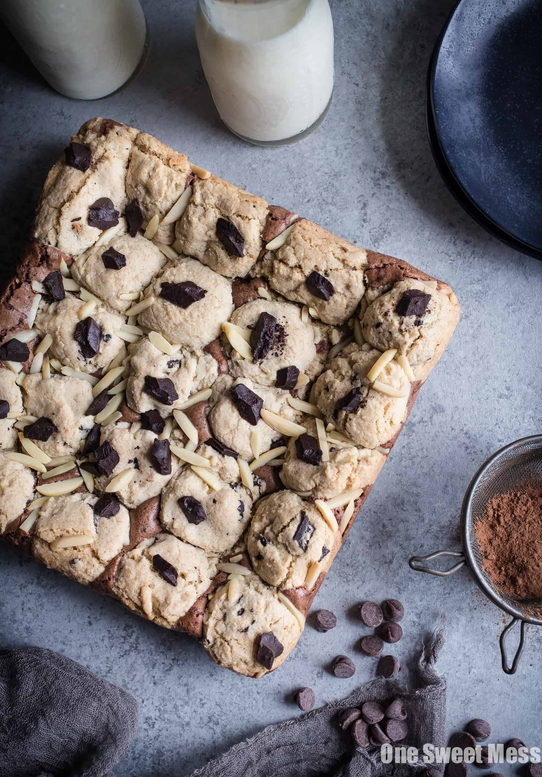 Gluten-Free Chocolate Chip Cookie Brownies