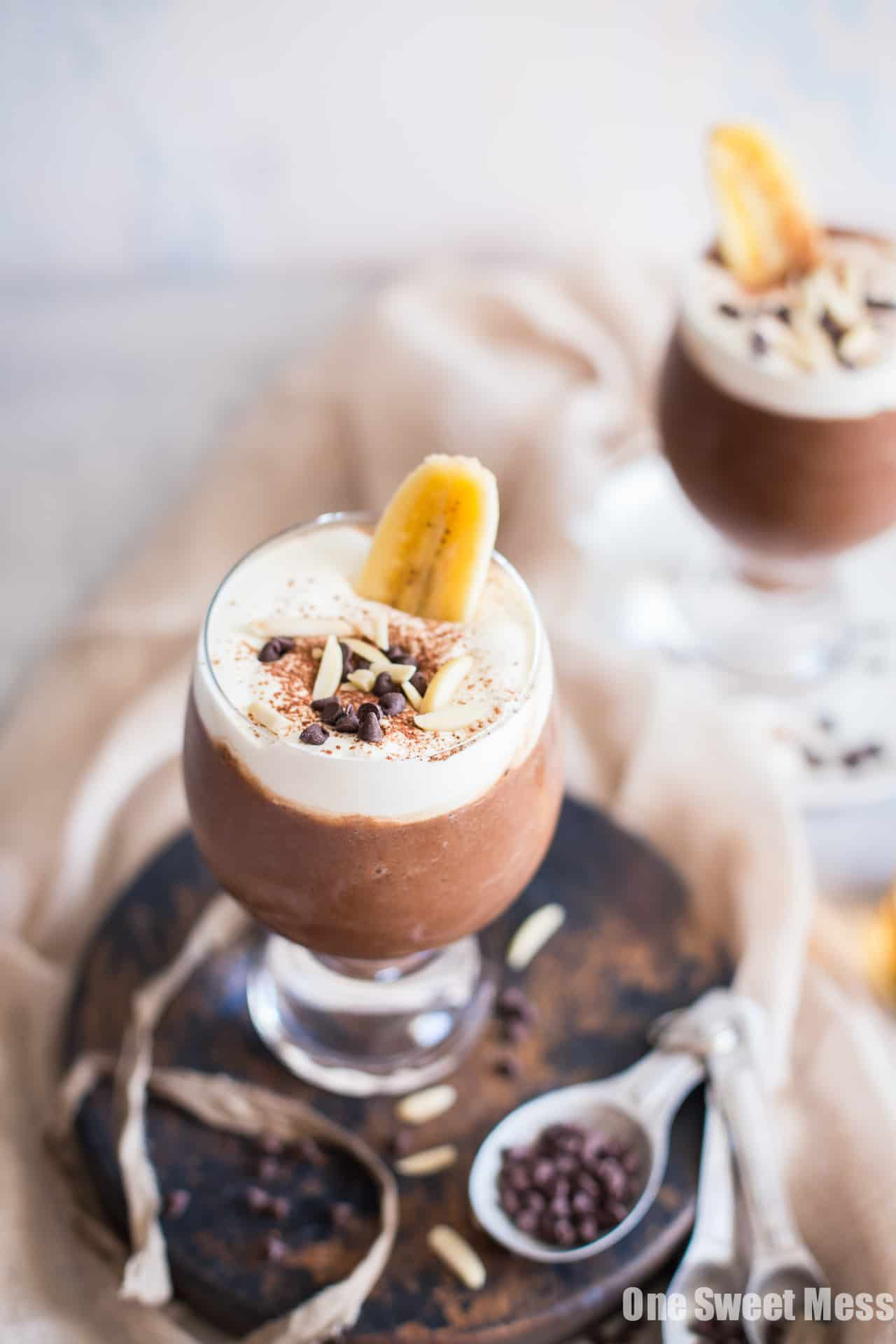 Dirty Banana Cocktail: This frozen cocktail is a creamy blend of chocolate, bananas, and espresso.