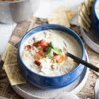 New England Clam Chowder: This one-pot meal is thick, hearty and gluten-free.
