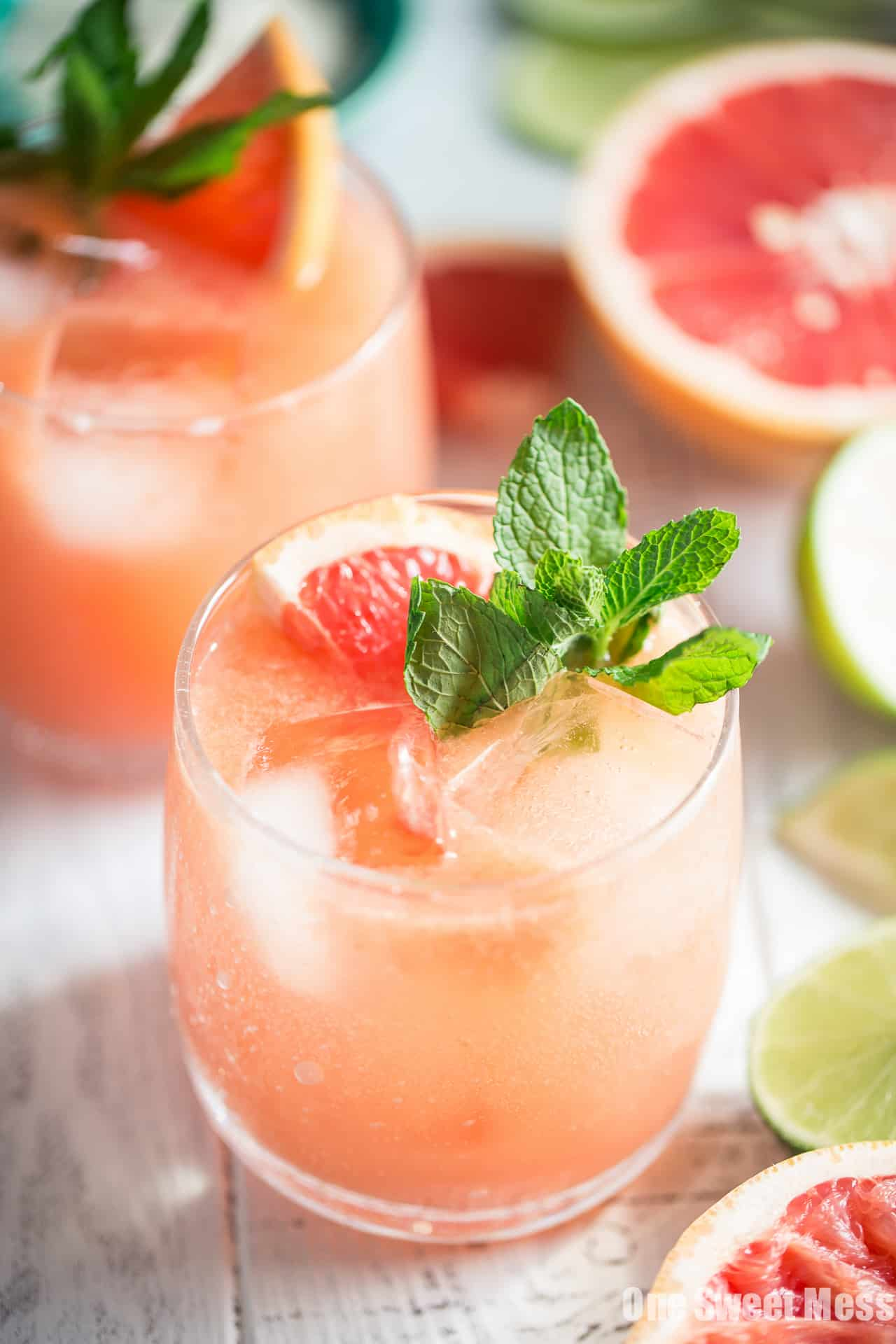 Paloma Cocktail: This citrus infused, tequila-spiked cocktail is deliciously satisfying.