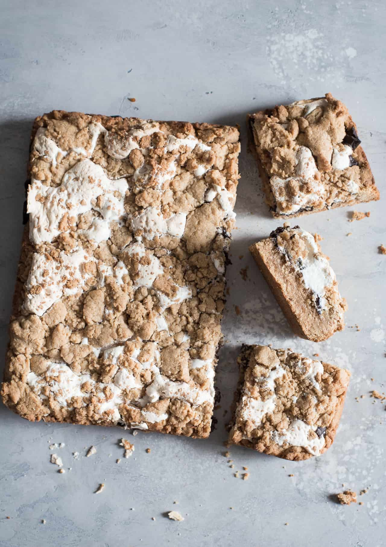 Gluten-Free Peanut Butter S'mores Bars