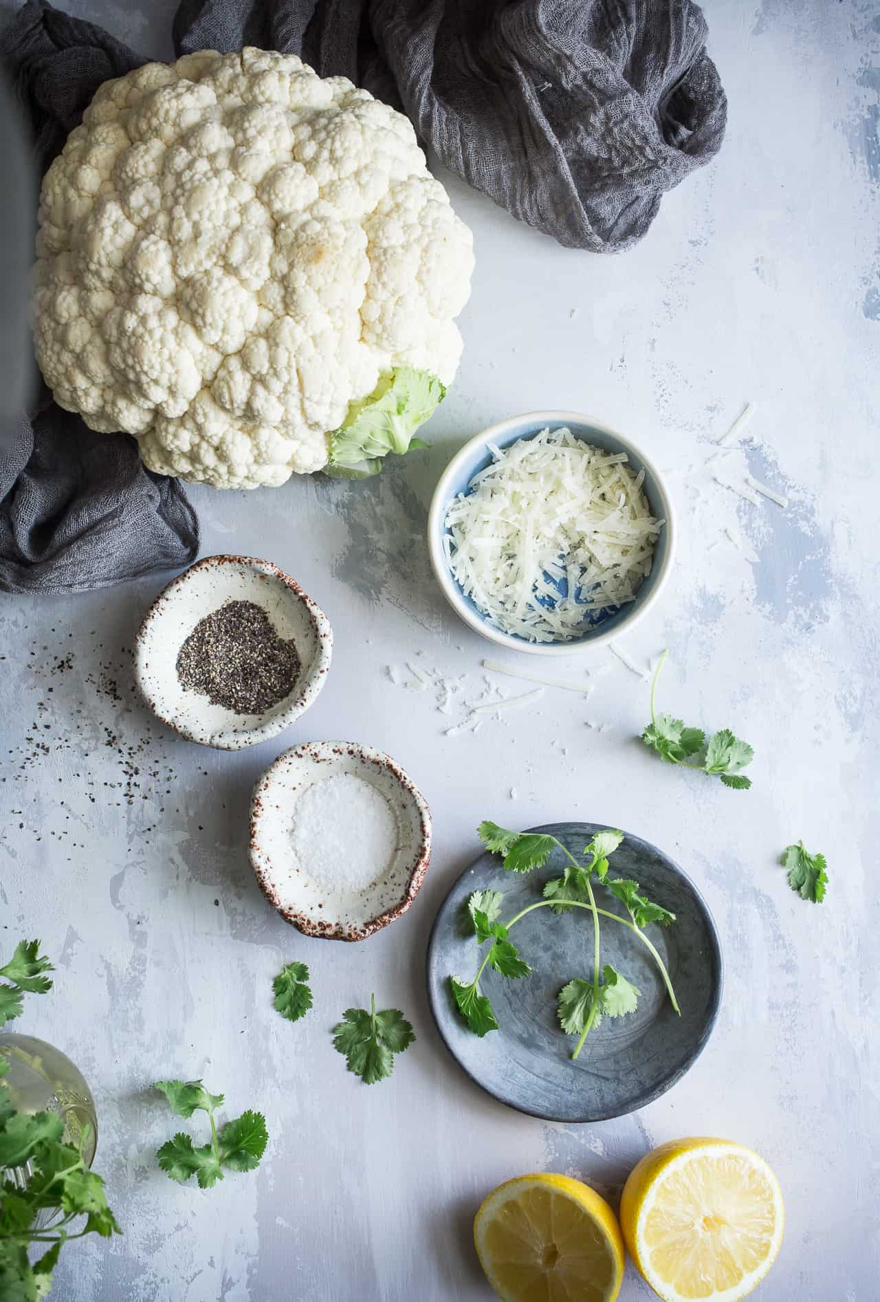 Cauliflower Mise En Place