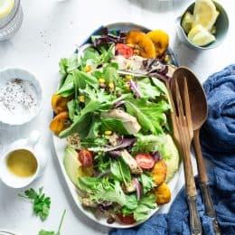Cuban-Style Grilled Chicken & Brown Rice Salad (Gluten-Free)