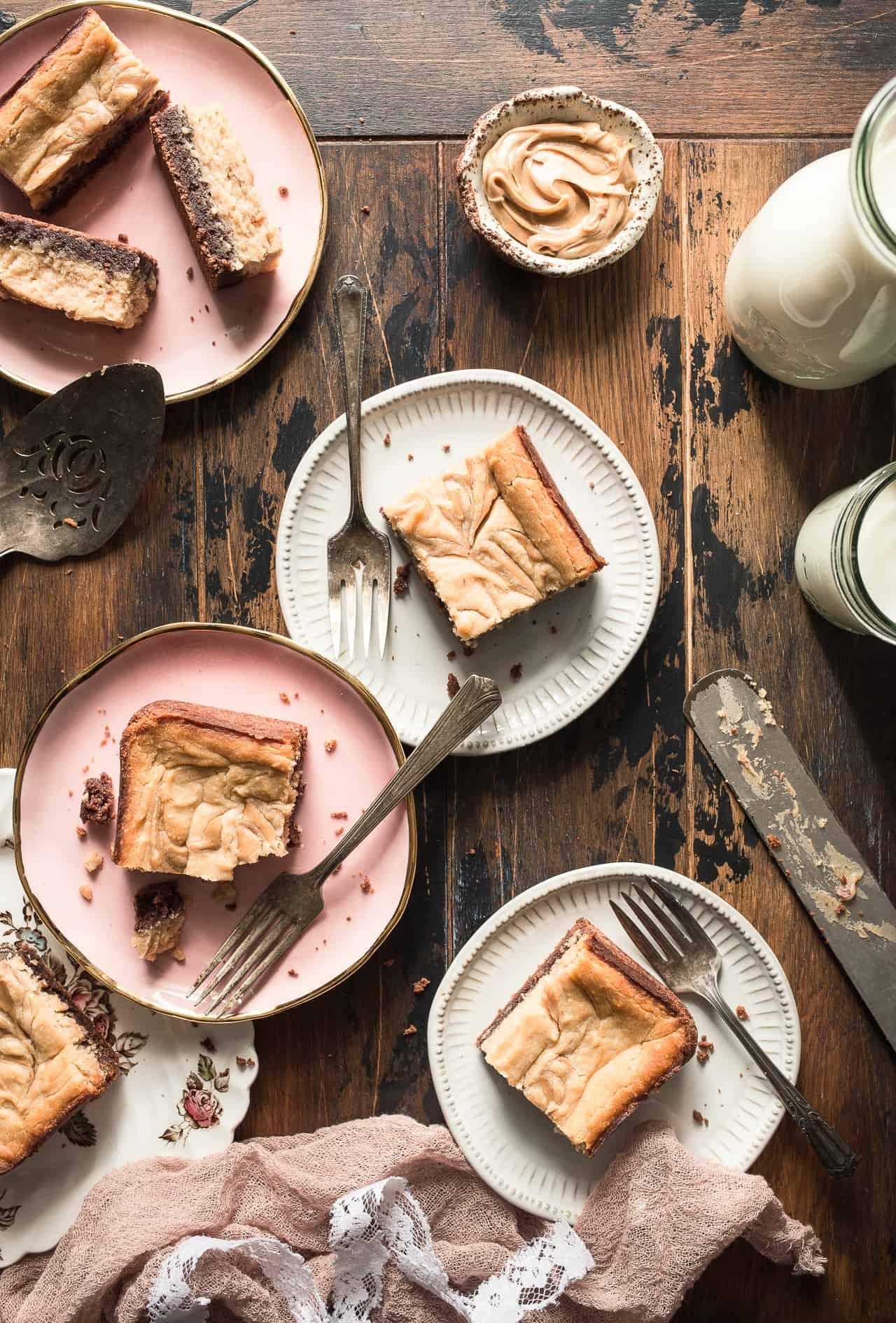 Gluten-Free Peanut Butter Cheesecake Brownies